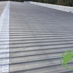 Metal roof bfore Cool Roofing Network coating